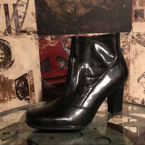 Franco Sarto Women's Ankle Boots Black